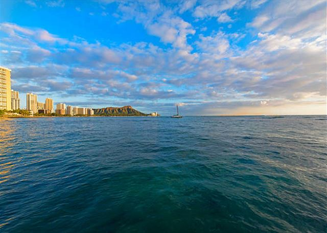Diamond Head Protects your Waikiki Getaway