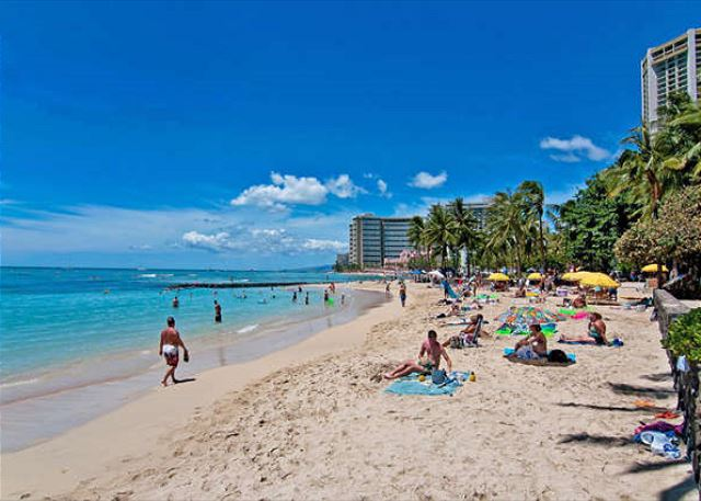 Beautiful condo just two blocks from the world famous Waikiki Beach, ID#225887