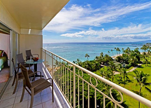 Beachfront luxury condo at the Waikiki Shore, ID#225879