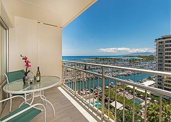Ilikai Hotel Ocean-Marina 1 BDR on the 12th Floor