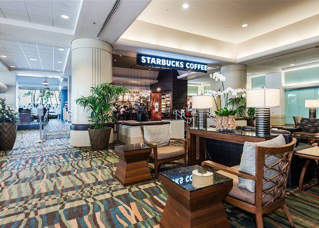 Starbucks in Lobby!