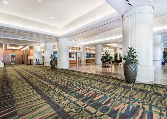 Lobby Are at Ala Moana Hotel