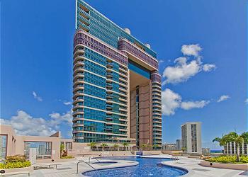 The Waikiki Landmark. Photo Taken from Pool Deck