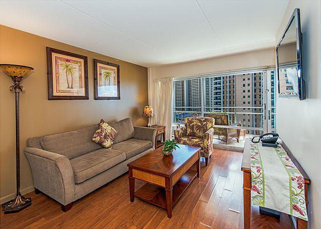 Tropical Design in Modern Living Room