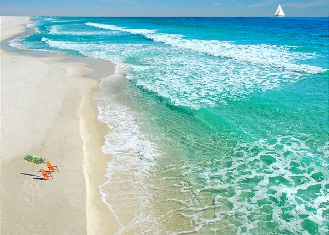The Emerald Coast... we are waiting for you.