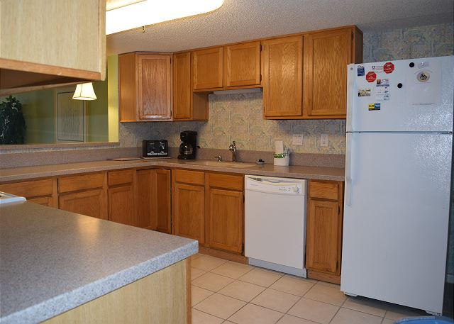 All of the Surf Dweller units have spacious kitchens... this one is no exception.