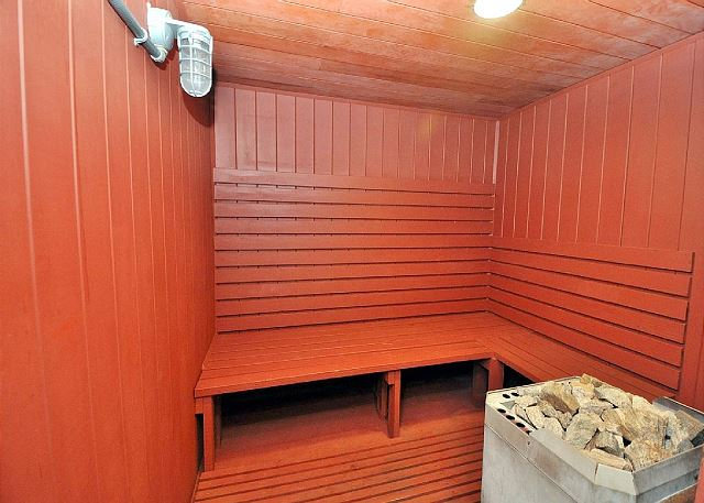 This Sauna will let you sweat it out.
