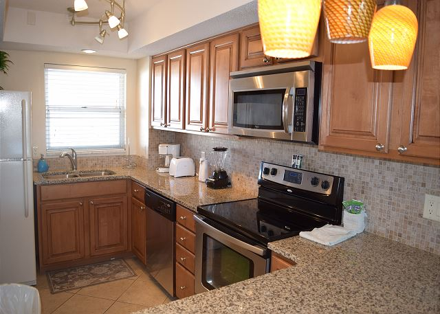 Updated kitchen with everything you will need.