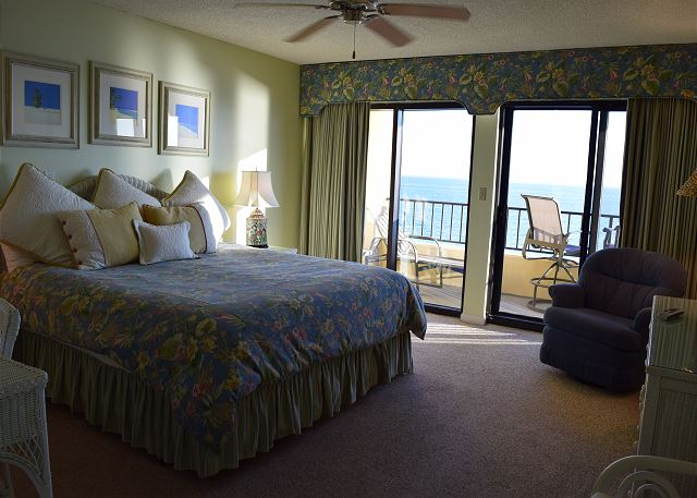 Can you see yourself staying here? Master Bedroom #504 Surf Dweller...