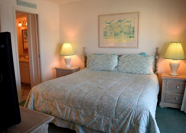 Master bedroom comfort.