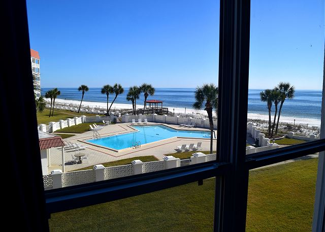Out your bedroom window - does it get any better than this?