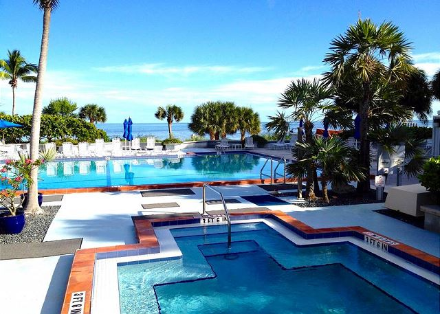The best pool area in Key West