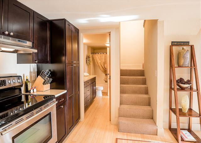 Stairs & Bathroom