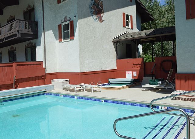 Edelweiss Pool and hot tub