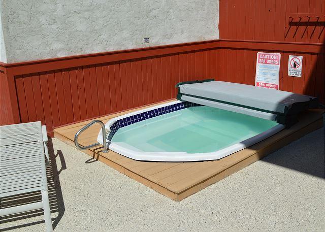 Edelweiss hot tub