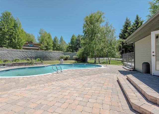 Ranch Pool Summer