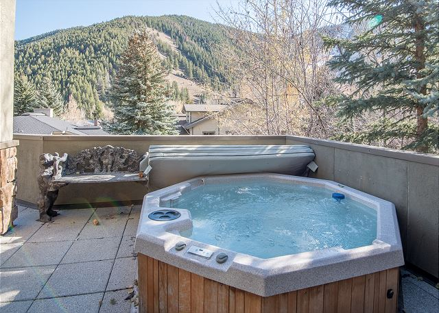Private Hot Tub and Baldy Views