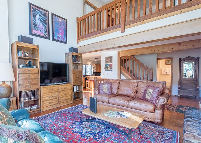 Living Room - High Ceilings