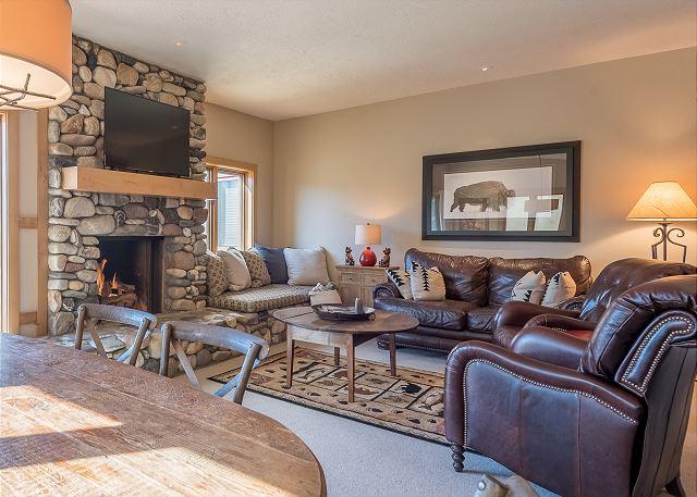 Get Cozy Around the Fireplace
