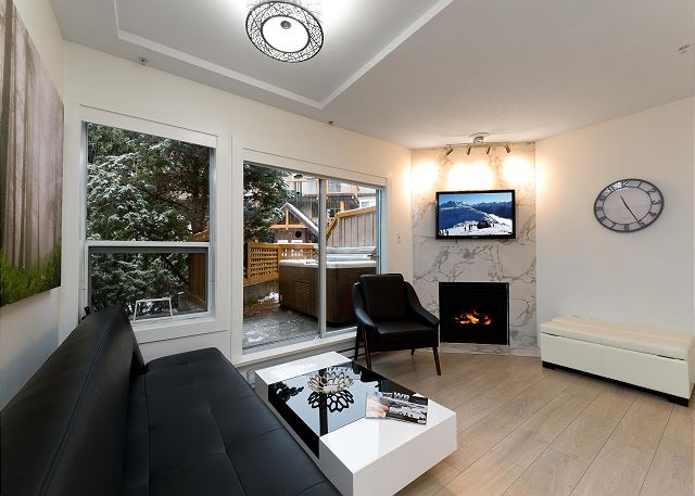 """Beautiful property in the heart of Whistler. The Private hot tub was an incredible luxury, excellent value!"""