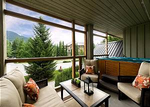 31 Glaciers Reach, a 2br with hot tub & pool in Whistler Village