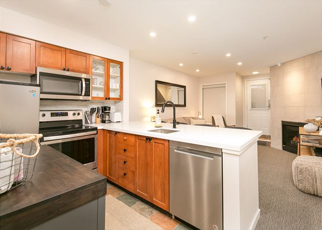 """""""Great home. We really appreciated that the kitchen was so well stocked, it made dining in an easy option"""""""