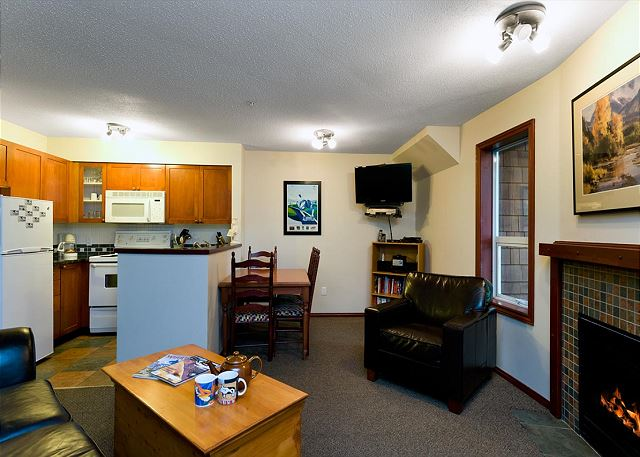 All of our homes have flat screen TVs with 100+ channels, DVD player, Wi-Fi and stereo.