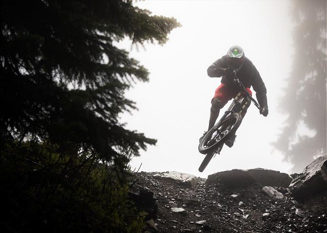 Whistler Mountain bike park has something for every level of rider, have fun!