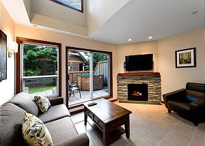 55 Glaciers Reach, a 2br with hot tub & pool in Whistler Village