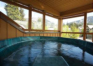 95 Glaciers Reach, a 1br with hottub & pool in Whistler Village