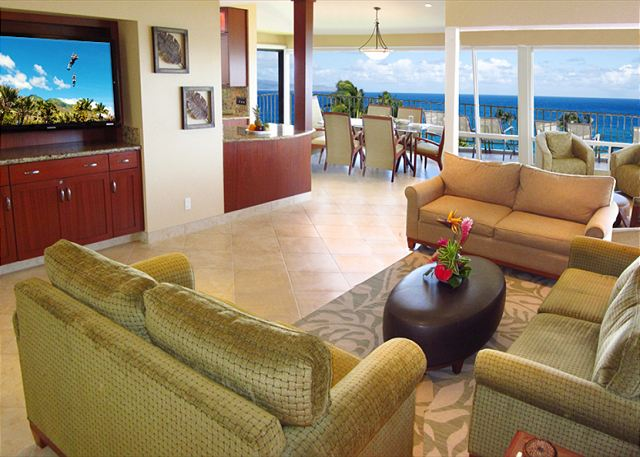 Kapalua Bay Villa 17B2 Gold  Ocean View