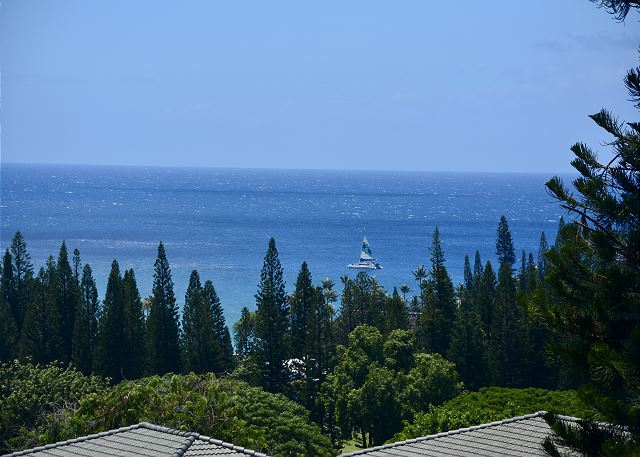 Kapalua Golf Villa 25V2 Gold Ocean View