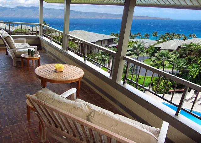Kapalua Ridge Villa 922 Ocean View 2 bed 3 bath