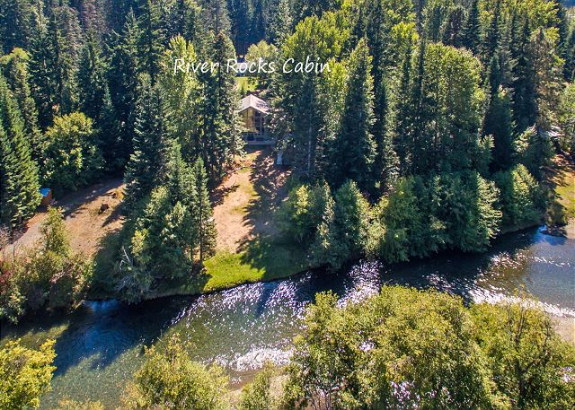 River Rocks Cabin on the upper Yakima River!