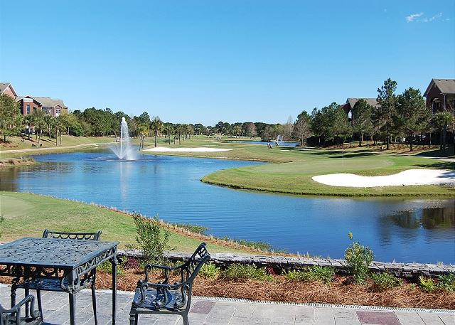 View of Golf Course 9&10
