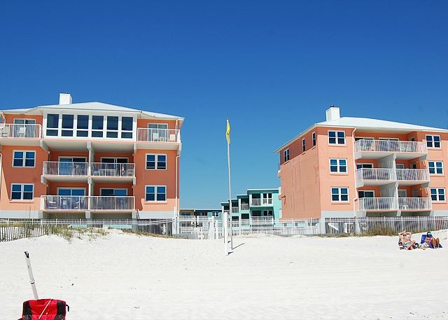Harbor House from Beach