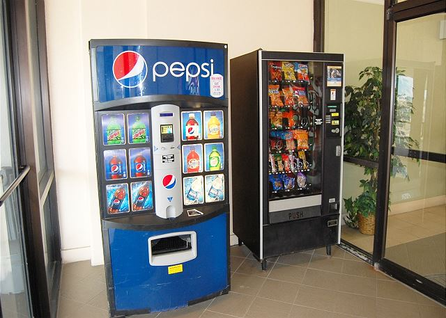 Vending Machine in Lobby