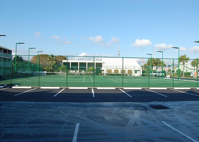 Tennis Courts view2