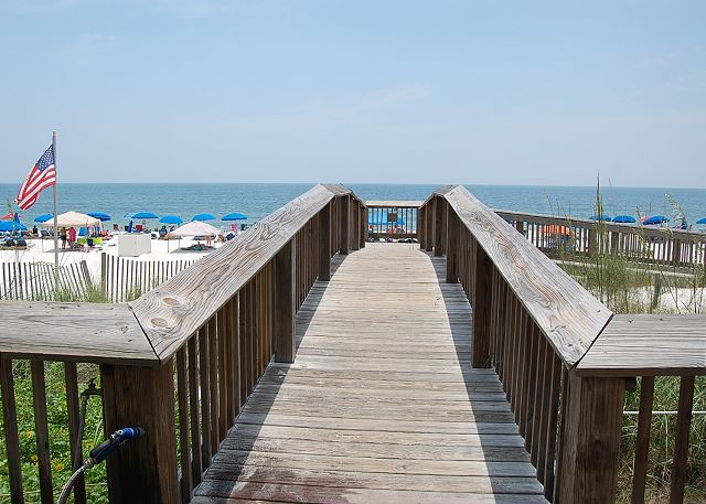 Board Walk to Beach