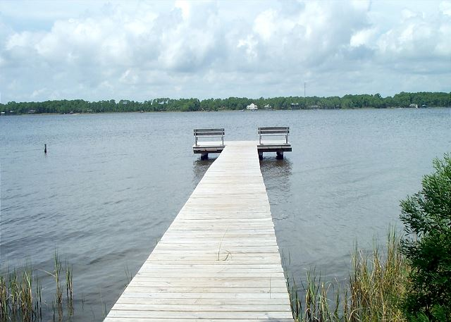 Pier on the Lagoon