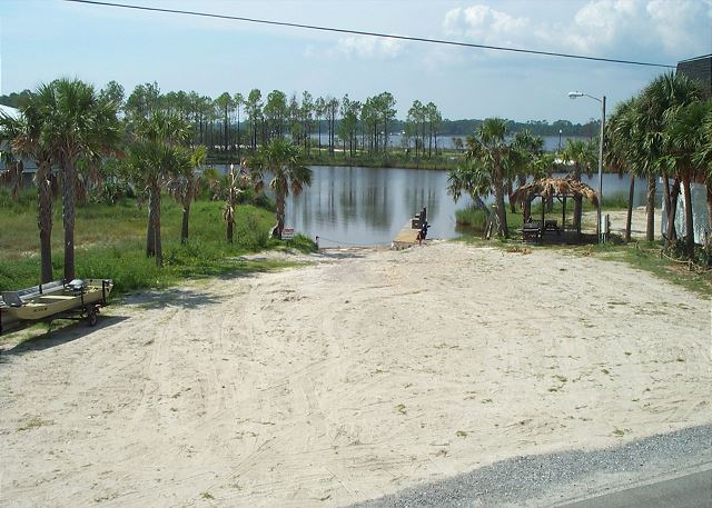 Boat Launch Area