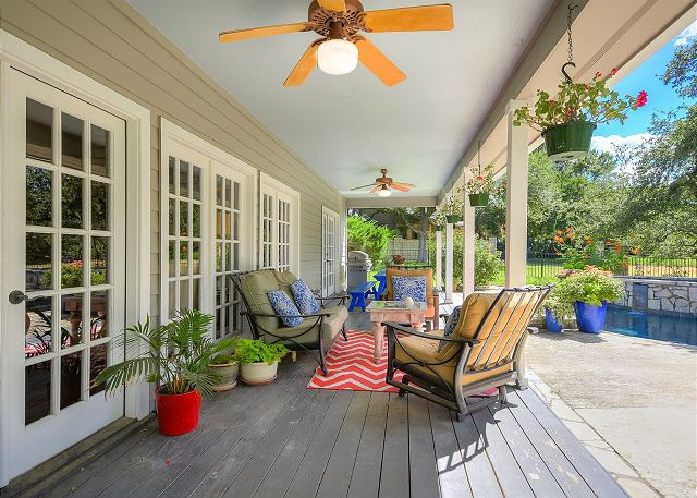 Front House - Back Deck