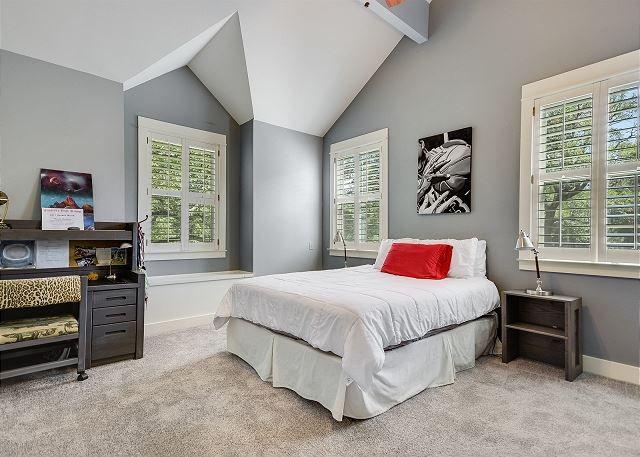Upstairs Queen Bedroom with the ability to add a Front Gate bed