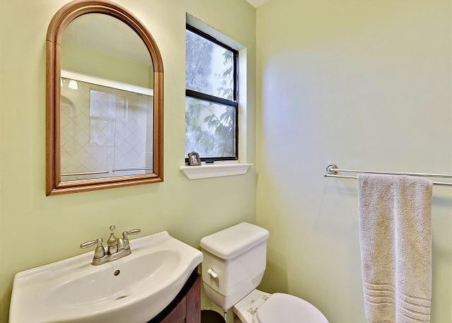 Master bathroom with additional sink