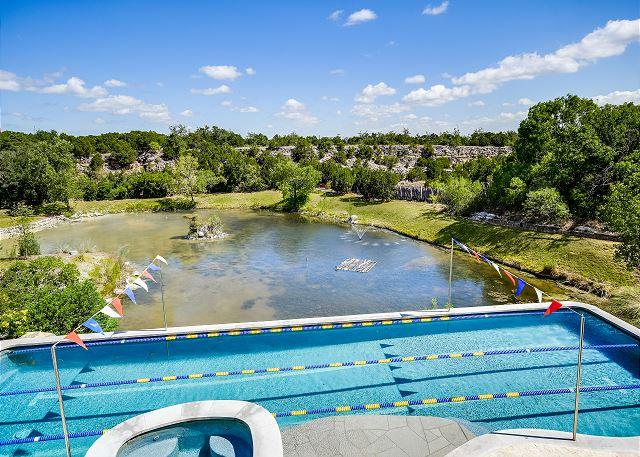 Lap Pool & Pond View