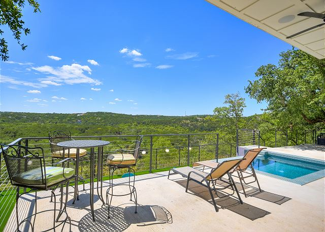 Gather friends and family for a relaxing day by the pool