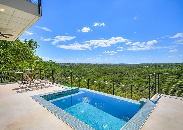 This pool? With this view? What more could you want?