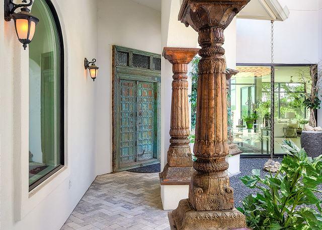 What awaits you behind elegant doors?