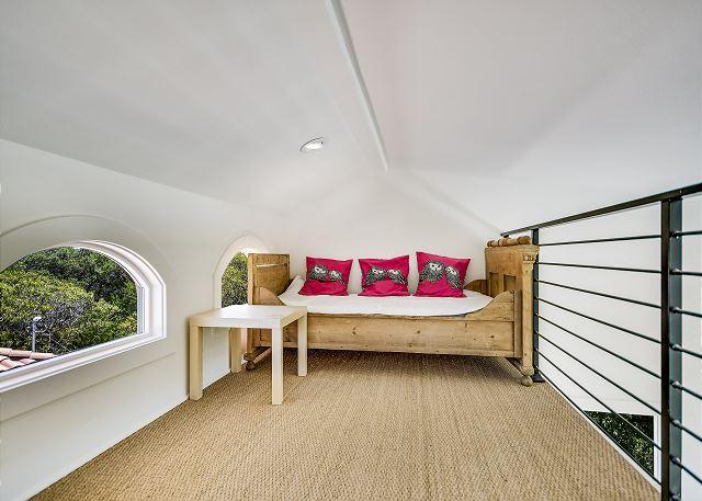 Loft in the upstairs queen bedroom