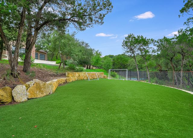 Enjoy your own private soccer field